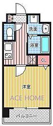 Luxe新大阪III[709号室号室]の間取り