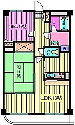 SGKマンションパピオール[603号室]の間取り