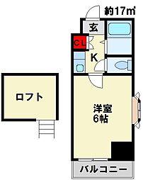 ロイヤルシャトー黒崎[4階]の間取り