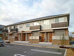 滋賀県栗東市下鈎の賃貸アパートの外観