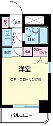 神奈川県川崎市中原区小杉町3丁目の賃貸マンションの間取り