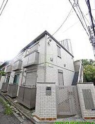 東京都新宿区市谷仲之町の賃貸アパートの外観