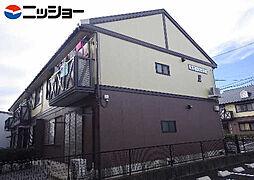 ポピーハイツ E棟[1階]の外観