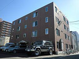 北海道札幌市中央区北5条西21丁目の賃貸マンションの外観