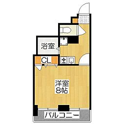 OKUNO御所東ビル[304号室]の間取り