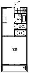 コーポアーバンスペース[108号室]の間取り