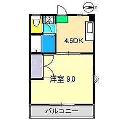 TMハイツ[3階]の間取り