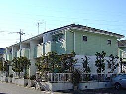 千葉県柏市松葉町の賃貸アパートの外観