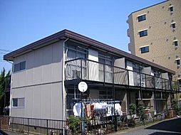 東京都板橋区高島平9丁目の賃貸アパートの外観
