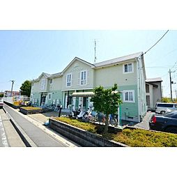 埼玉県比企郡吉見町東野4の賃貸アパートの外観