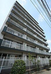 埼玉県草加市松原4丁目の賃貸マンションの外観