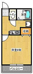エクセレント・キムラ[2階]の間取り