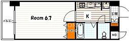 エステムコート京都駅前KOTO[305号室号室]の間取り