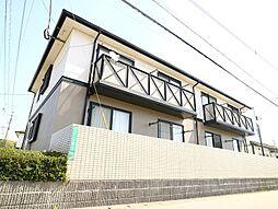 コーポ弐番館[1階]の外観