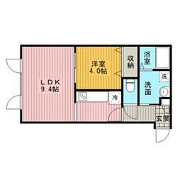 Cozy Court[2階]の間取り