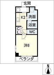 本郷ビルISA[6階]の間取り