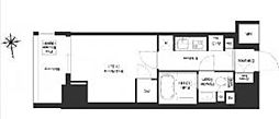 JR総武線 浅草橋駅 徒歩8分の賃貸マンション 12階1Kの間取り