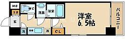 レジュールアッシュ京橋クロス[7階]の間取り