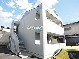 神奈川県伊勢原市桜台1の賃貸アパートの外観