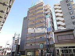 静岡県浜松市中区海老塚1の賃貸マンションの外観