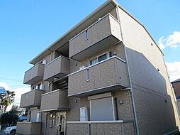 レフィナードカルチェD棟[2階]の外観