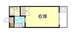 エステート19古江東[3階]の間取り