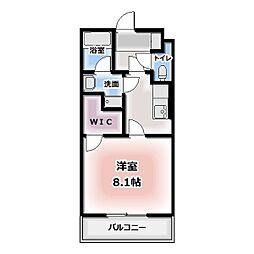 エコールド松葉[306号室]の間取り