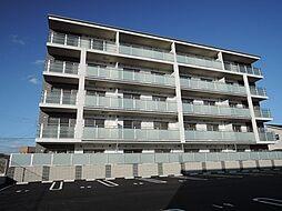 福岡県直方市大字感田の賃貸マンションの外観