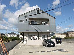 和歌山県御坊市湯川町財部の賃貸アパートの外観