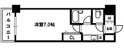 エスリード新大阪第7[5階]の間取り