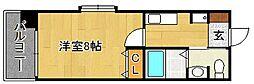 サンロージュ箱崎駅前[603号室]の間取り