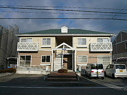 滋賀県彦根市中藪の賃貸アパートの外観