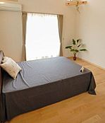 (参考プラン)間取図の寝室のイメージです