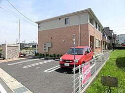 愛知県稲沢市西町1丁目の賃貸アパートの外観