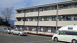 長野県安曇野市三郷明盛の賃貸マンションの外観