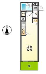 1897WATSON(ワトソン)[1階]の間取り