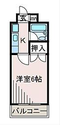 センチュリーハイツ三徳[4階]の間取り