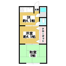 親宝ハウス[2階]の間取り