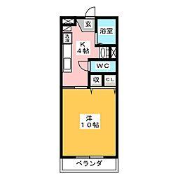 第7北村ビル[2階]の間取り