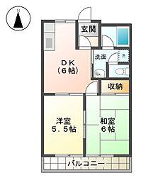 サンシャインH[2階]の間取り