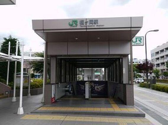 JR 榴ヶ岡駅...