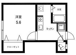 プラナスコートA棟[1階]の間取り