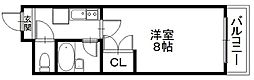 「エンゼルプラザ彦根4」〜落ち着いた街並み 城下町〜[1108号室]の間取り