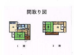 [一戸建] 広島県呉市清水3丁目 の賃貸【/】の間取り