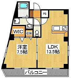 charmant house[401号室]の間取り