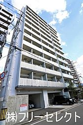 福岡県福岡市博多区美野島2の賃貸マンションの外観