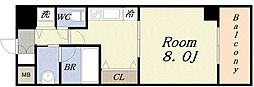 Loisir Kusunoki[4階]の間取り