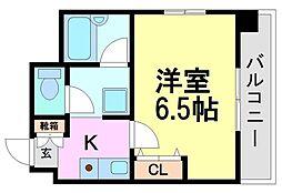 エスティライフ武庫之荘[3階]の間取り