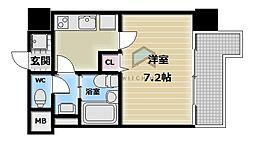 M'PLAZA布施駅前参番館[3階]の間取り
