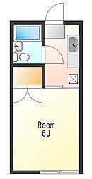 ハウス264[1階]の間取り